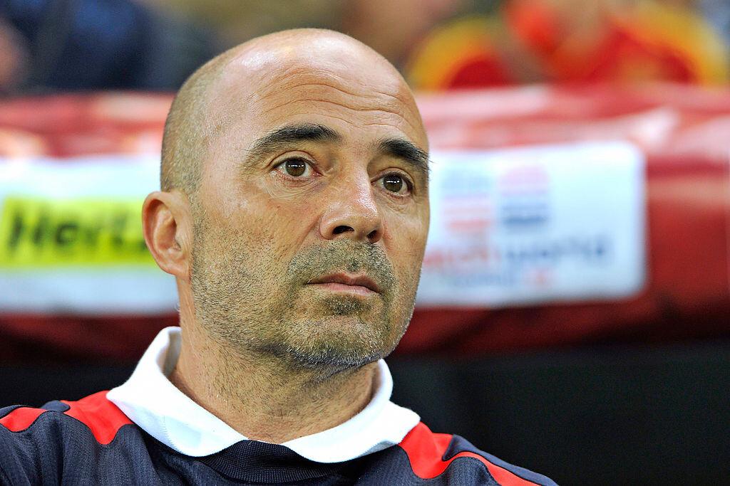Jorge Sampaoli ya está en Sevilla