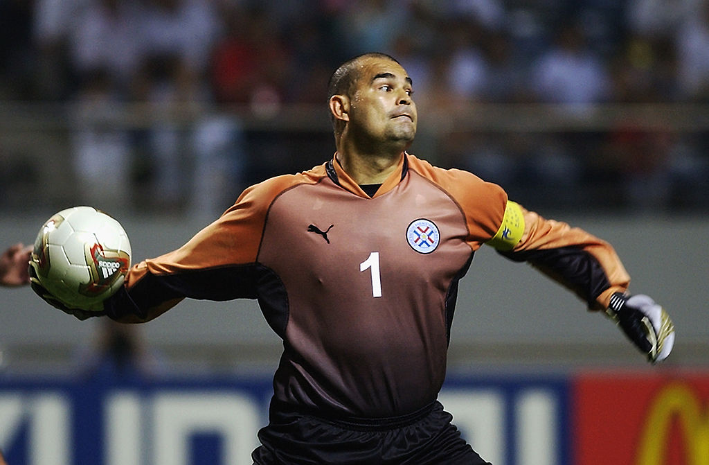 José Luis Chilavert es considerado el mejor portero en la historia de Paraguay