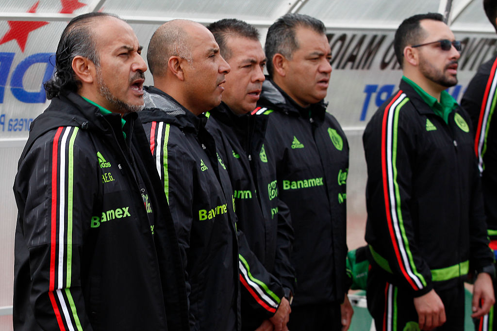 Raúl Gutiérrez ténico de la selección mexicana