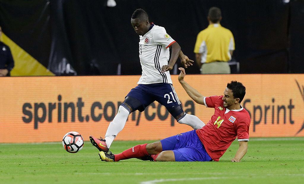 Moreno participó con Colombia en la Copa América