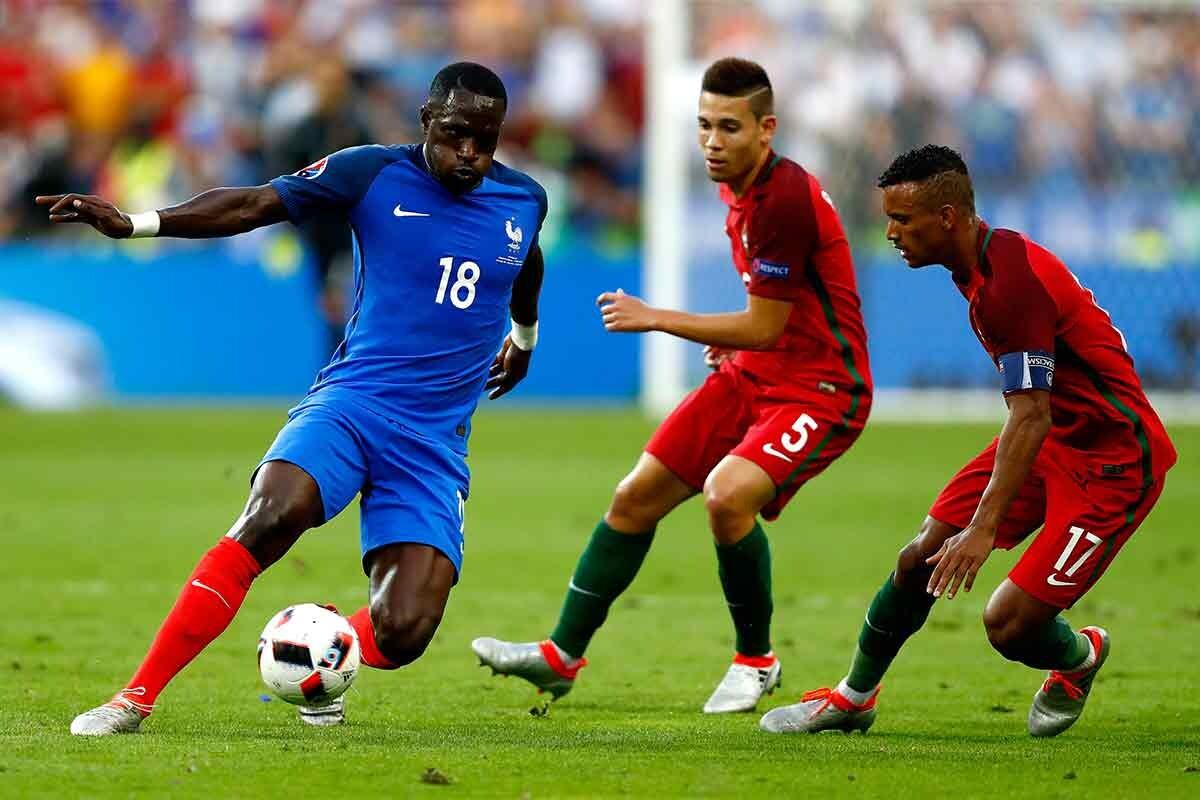 Moussa Sissoko, durante la final contra Portugal