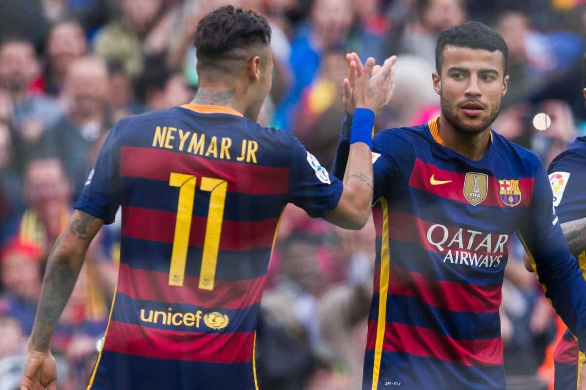 Neymar y Rafinha