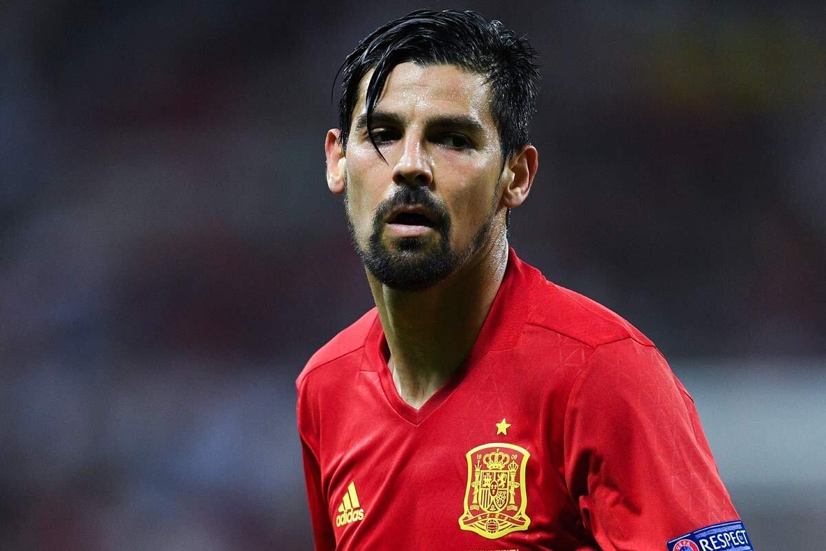 Nolito, con la selección española