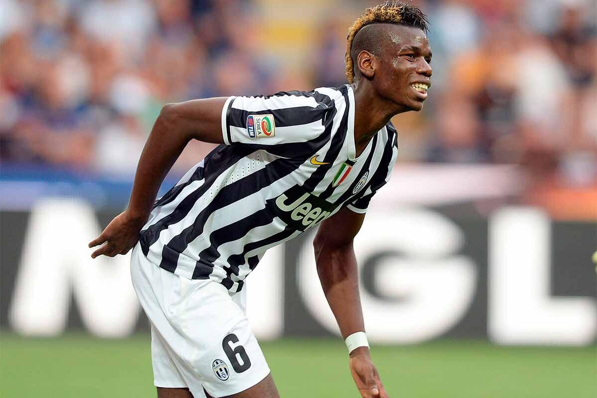 Paul Pogba, durante su primera temporada en la Juventus
