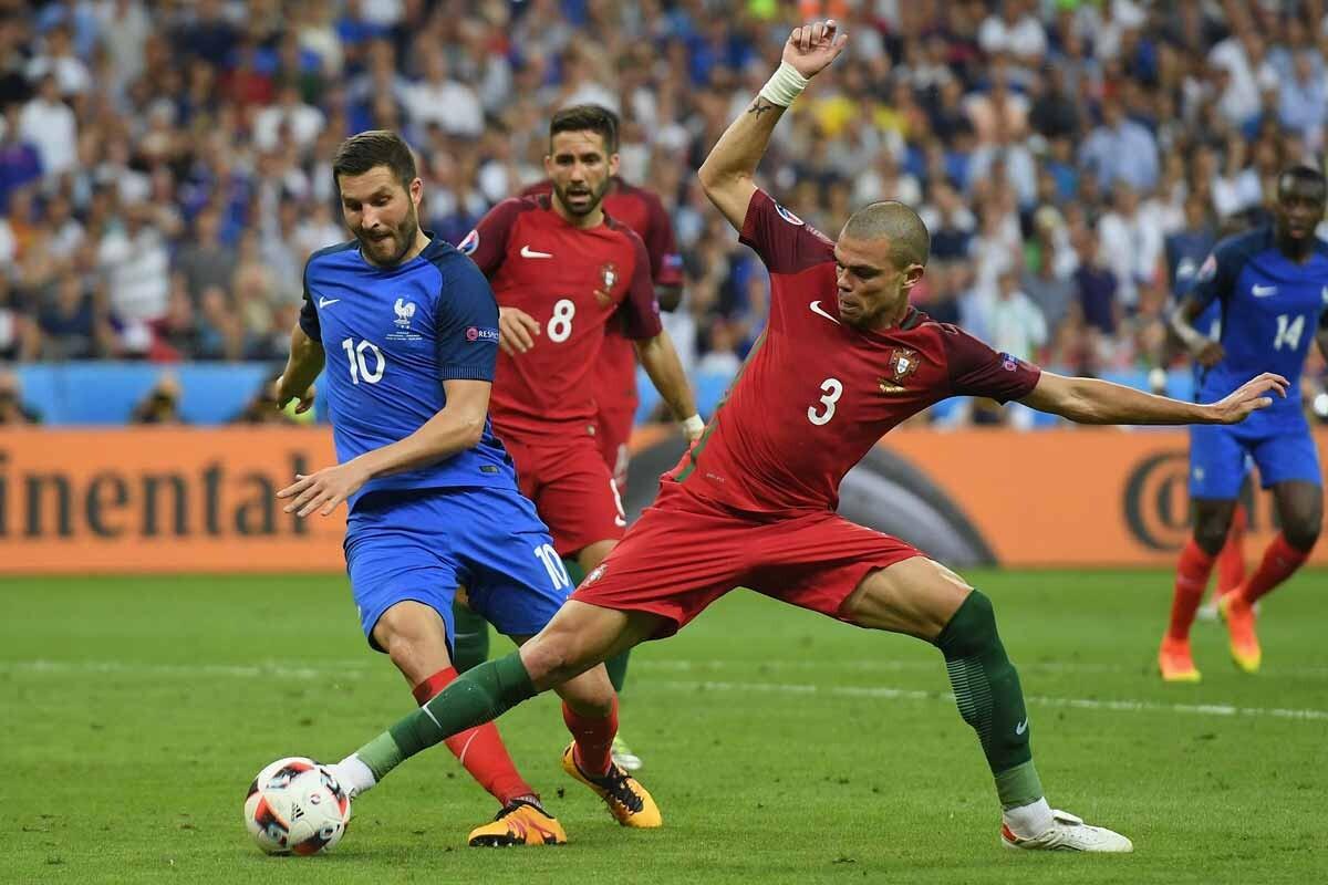 Pepe, con Portugal