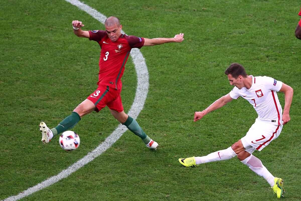 Pepe, con Portugal contra Polonia