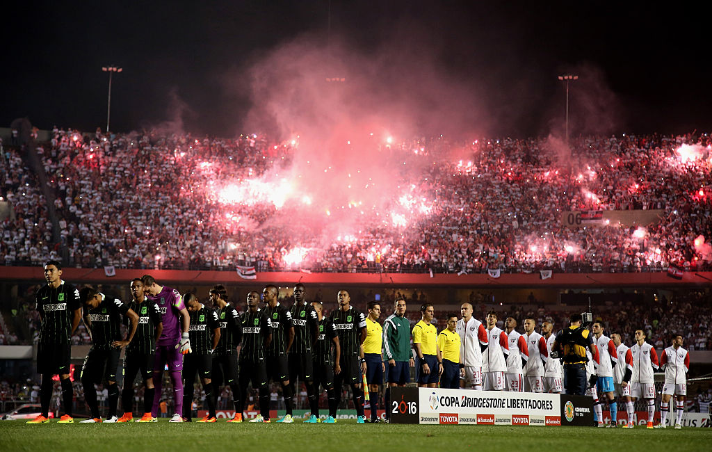 Sao Paulo y Atlético Nacional en semifinal de Copa Libertadores