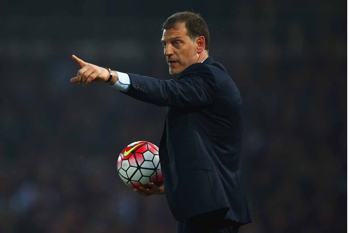 Slaven Bilic, entrenador del West Ham