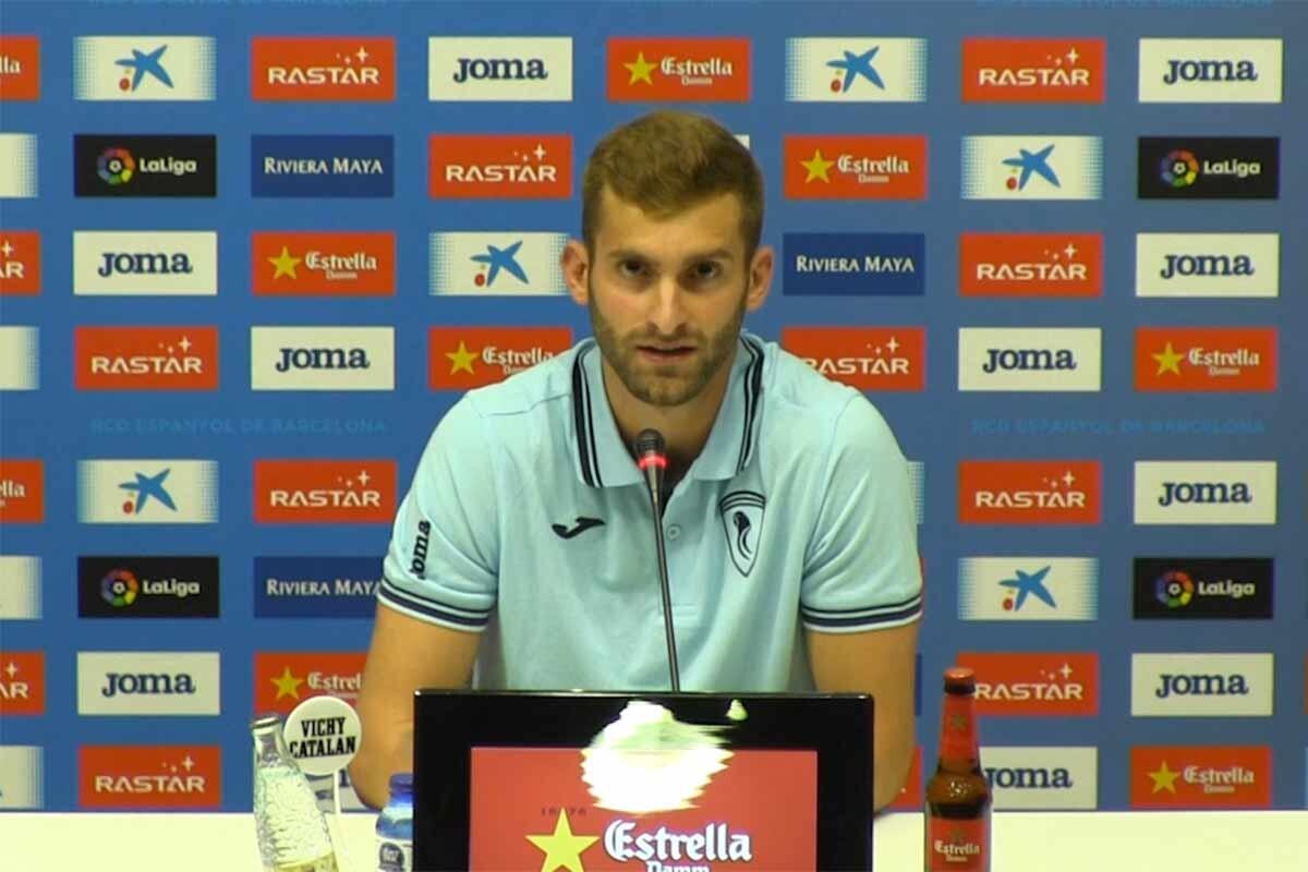 Leo Baptistao con el Espanyol