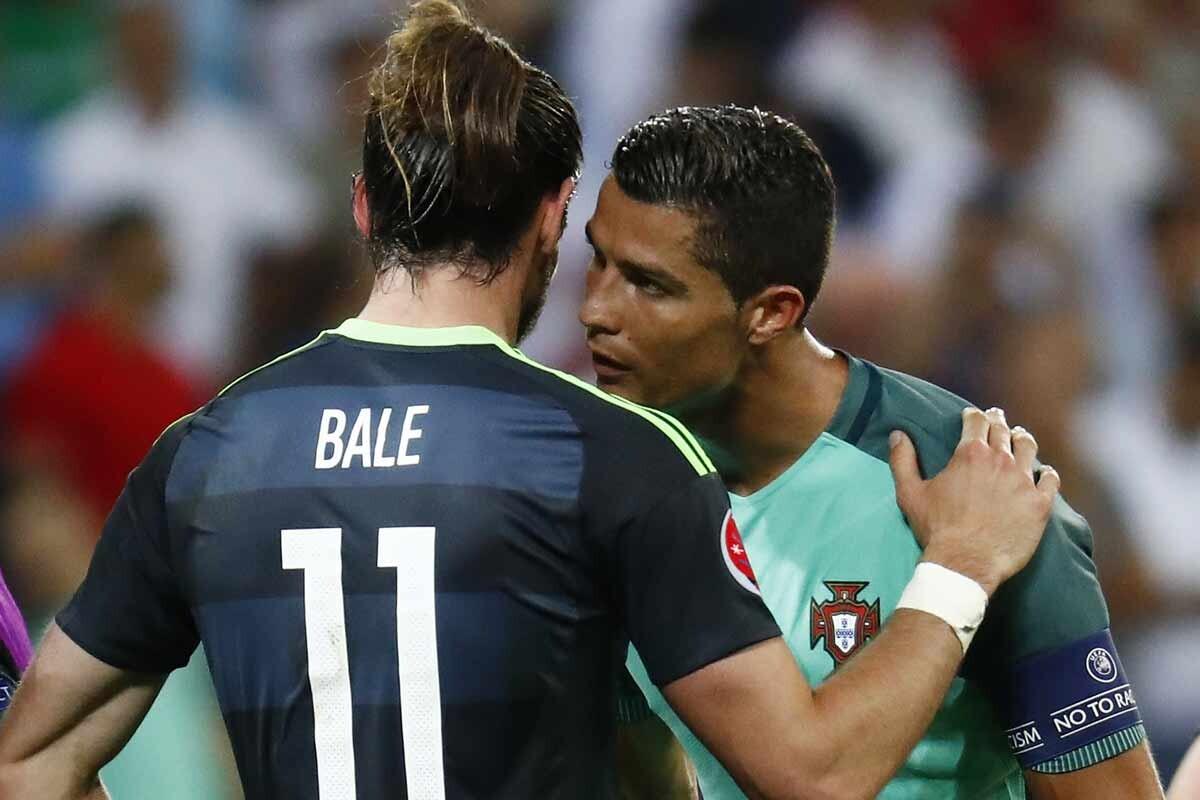 Lo que se dijeron Cristiano y Bale al final del partido