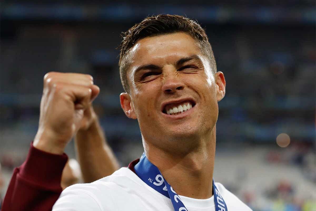 Cristiano Ronaldo, tras ganar la Eurocopa