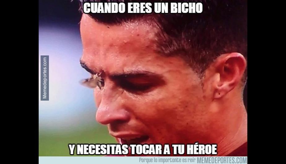 Los mejores memes de la lesión de Cristiano Ronaldo
