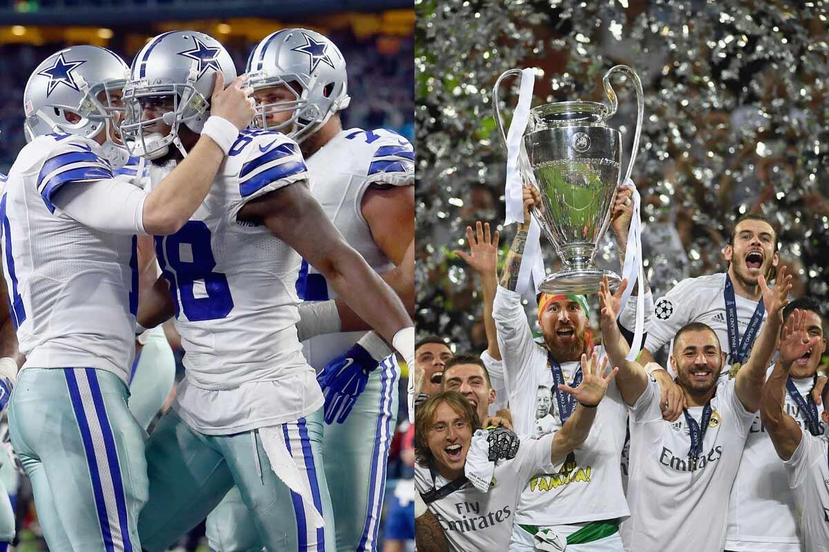 Dallas Cowboys y Real Madrid