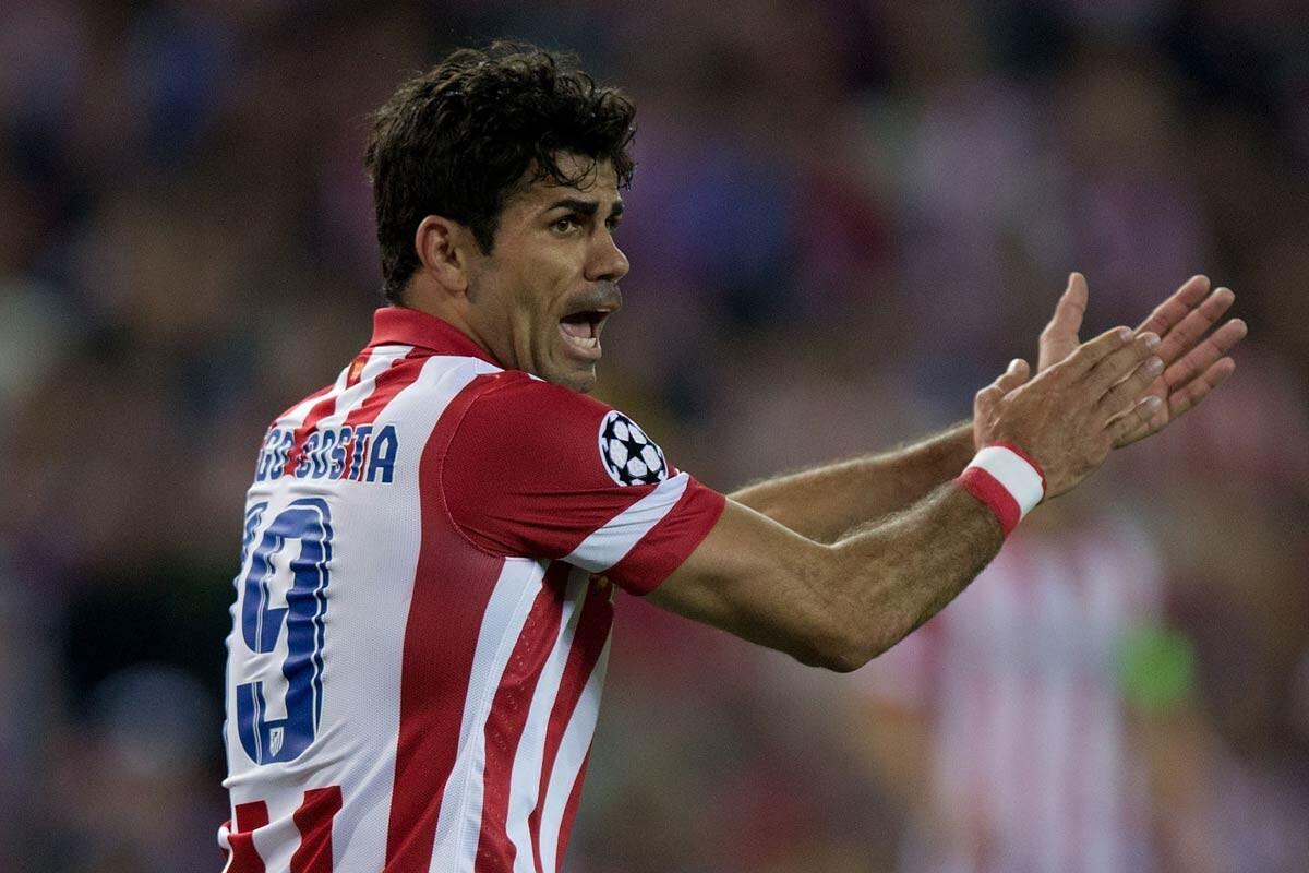 Diego Costa en su primera época con el Atlético
