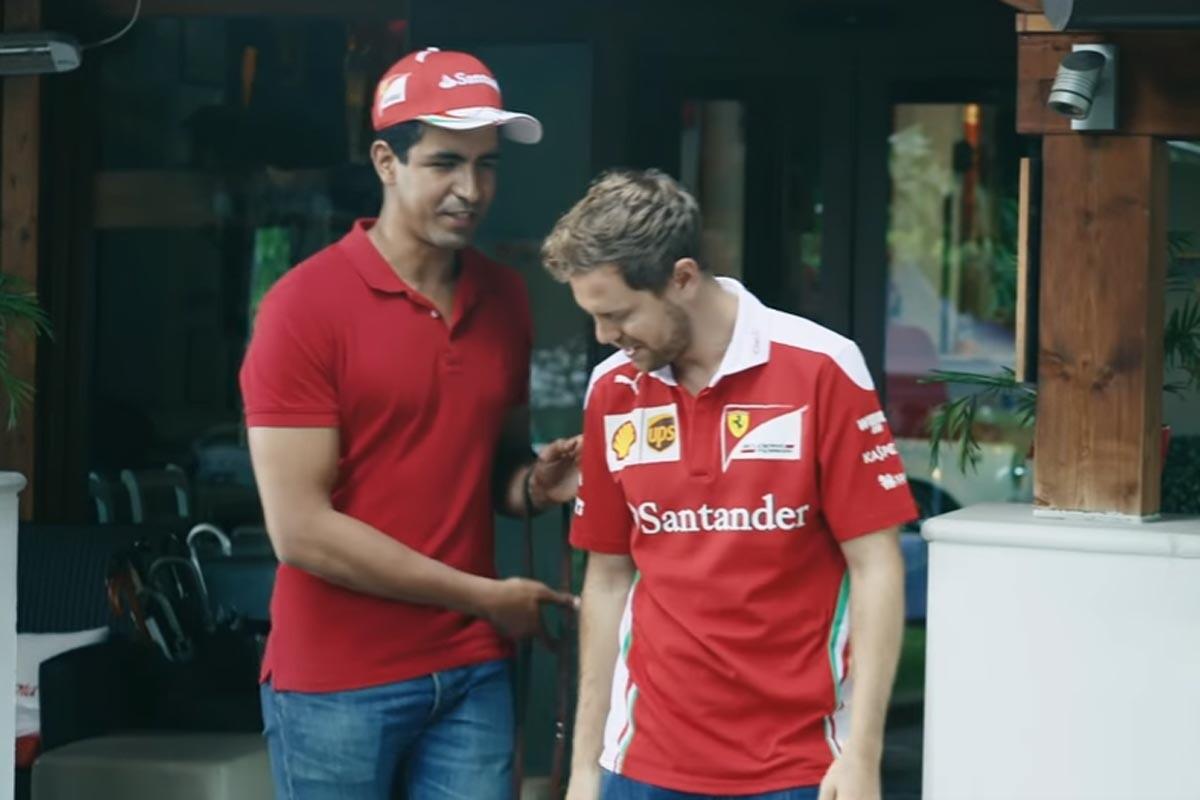 Enhamed y Vettel