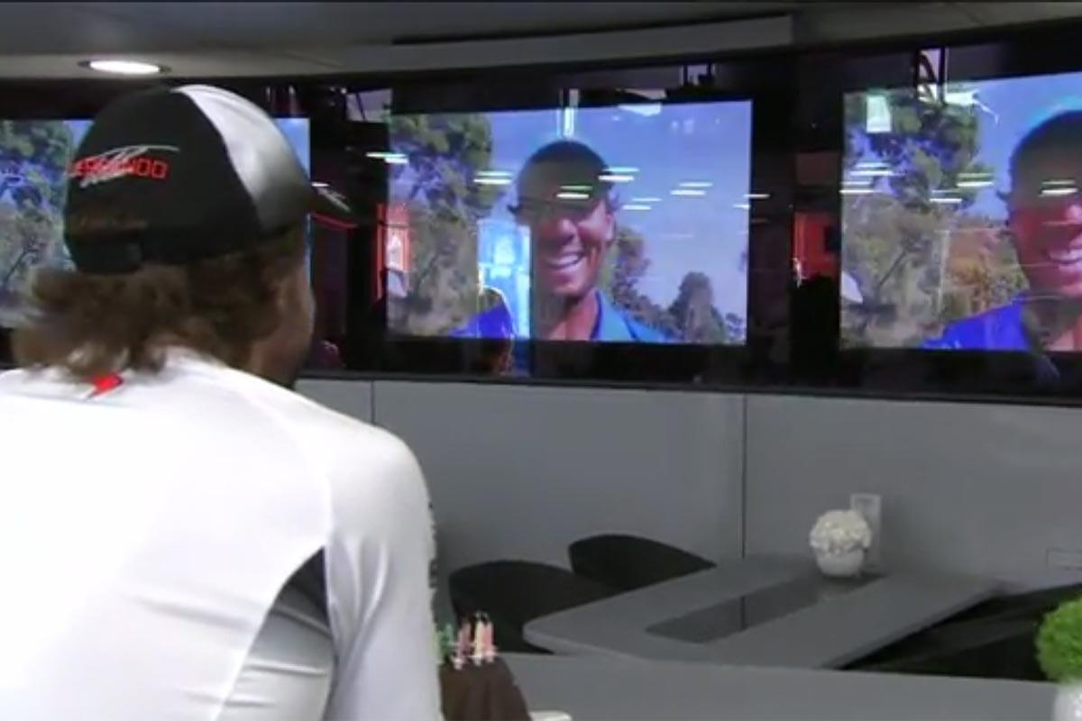 Felicitación a Alonso