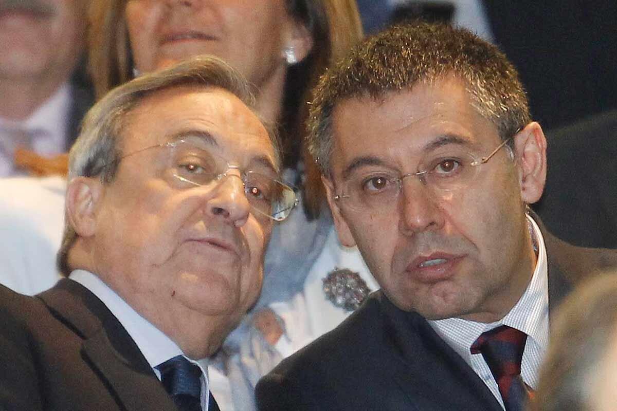 Florentino Pérez y Bartomeu