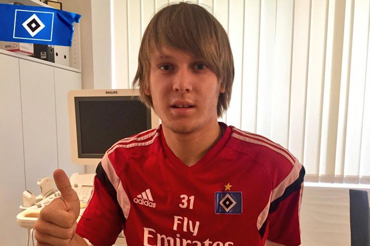 Allen Halilovic, nuevo jugador del Hamburgo