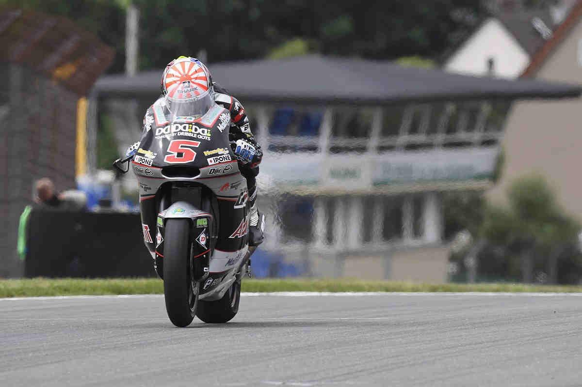 Zarco se lleva la victoria en una caótica carrera de Moto2