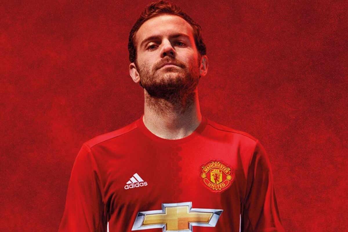 Juan Mata, del Manchester United