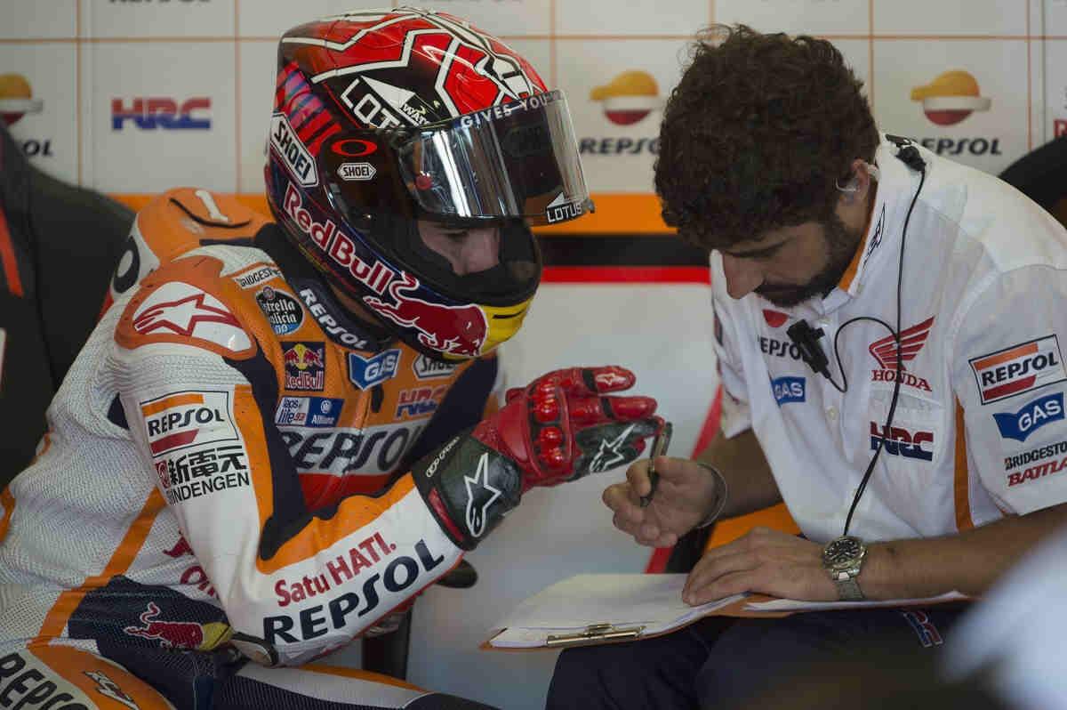 El equipo de Márquez fue clave para lograr la victoria en Sachsenring