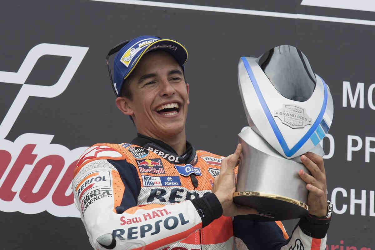 En Honda están encantados con la mentalidad de Márquez