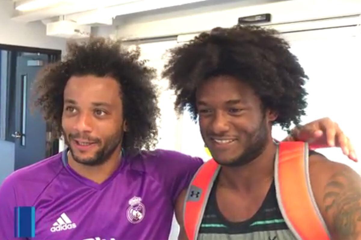 Marcelo y Michael Salazar