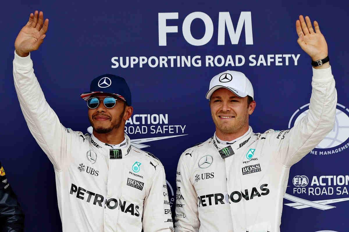 """Rosberg: """"Actualmente, Lewis y yo no somos los mejores amigos"""""""