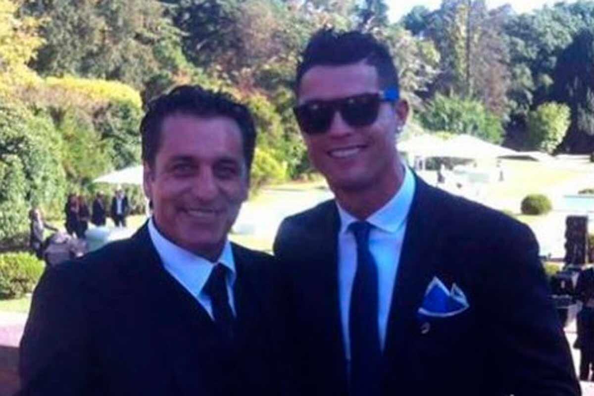 Paulo Futre y Cristiano Ronaldo