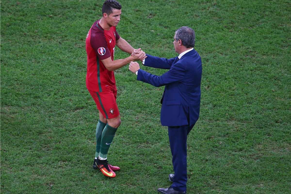 Portugal, Cristiano Ronaldo y Fernando Santos