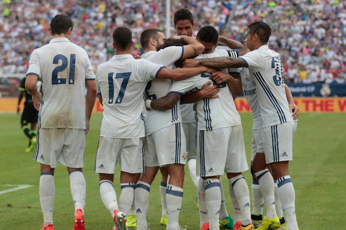 Real Madrid ante el Chelsea en pretemporada