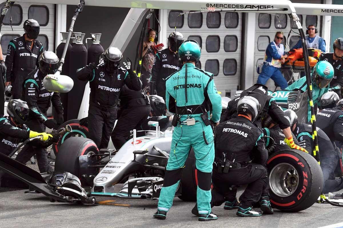 Nico Rosberg en el GP de alemania