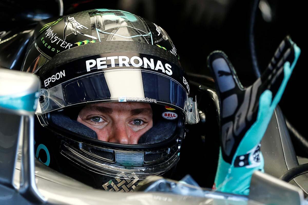 Nico Rosberg en el GP de Austria