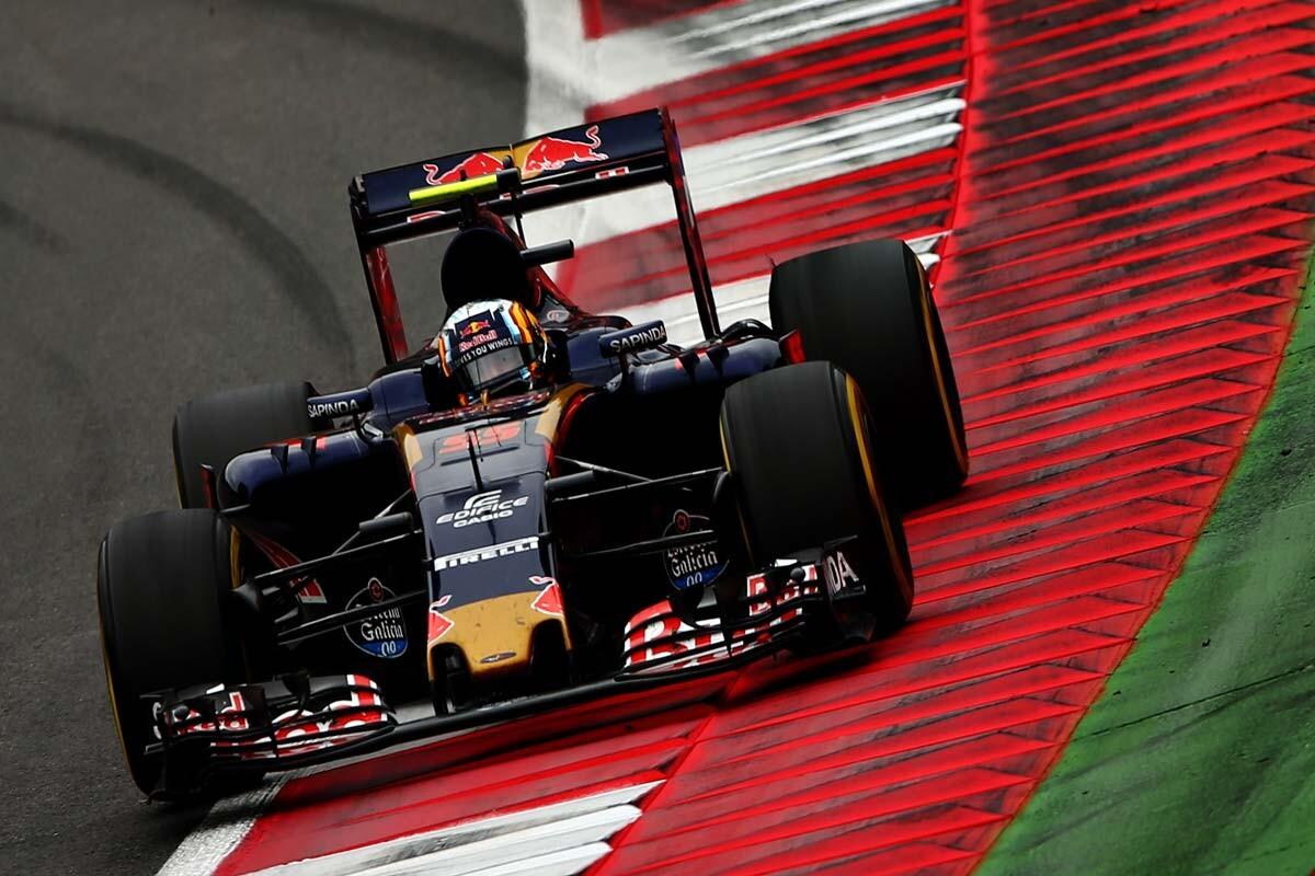 Carlos Sainz en el GP de Austria
