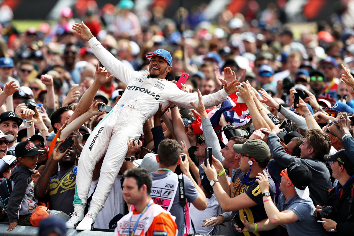 Las mejores imágenes del GP de Gran Bretaña