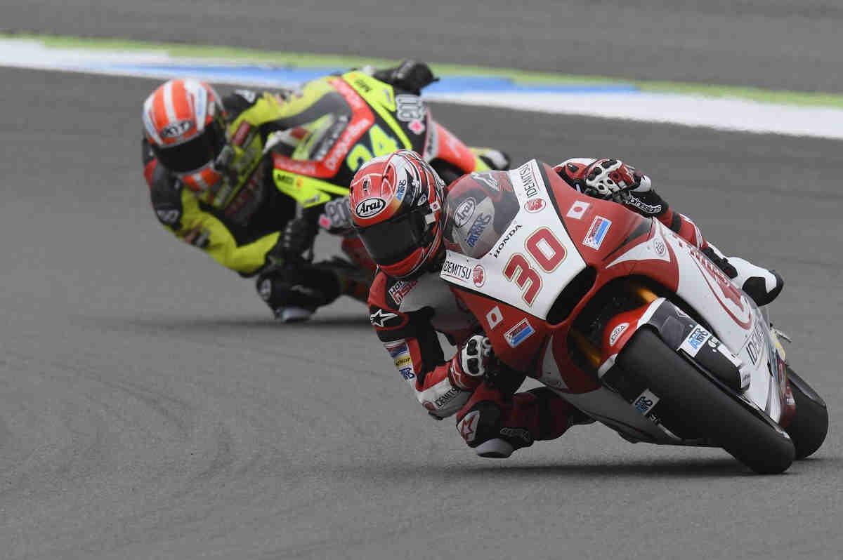 Nakagami se reafirma como el más rápido del viernes en Moto2