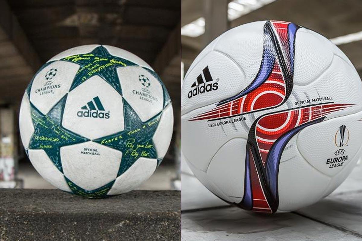 Adidas presenta los nuevos balones de la Champions y Europa League 72c8a67be7e55