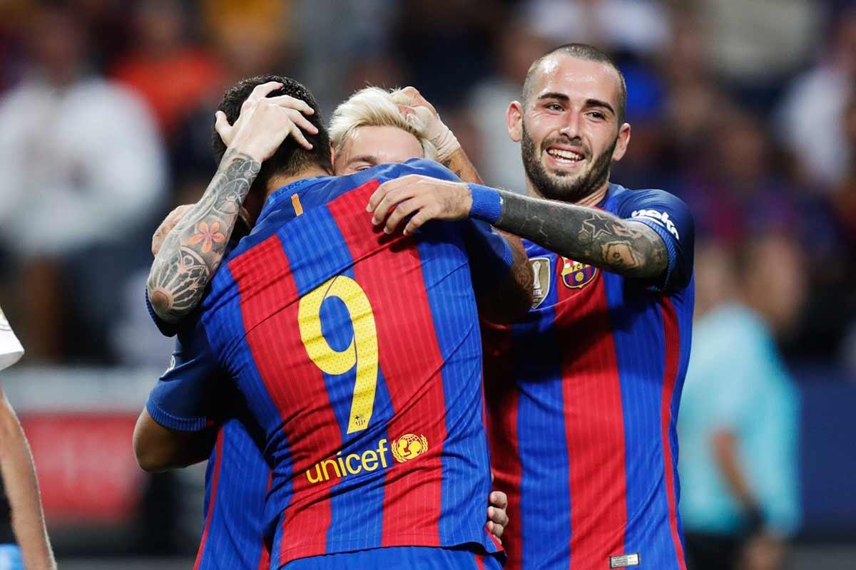 El Barça jugará en Wembley