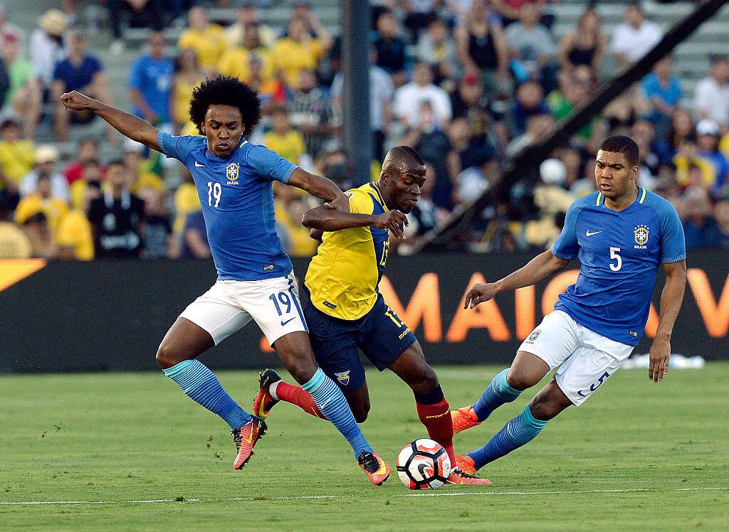 Casemiro jugará como titular ante Ecuador