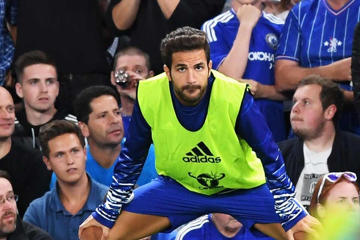 Cesc Fabregas, centrocampista del Chelsea