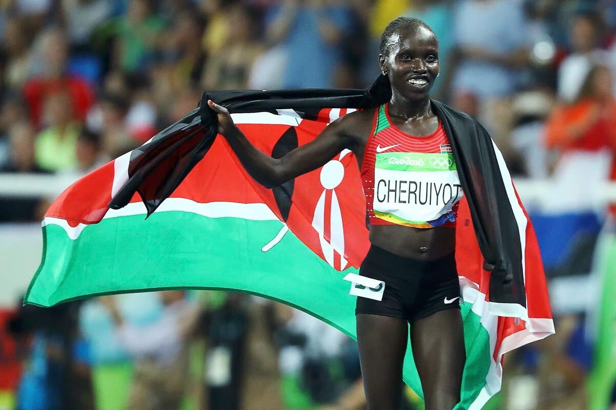 Vivian Jepkemoi Cheruiyot, de Kenia