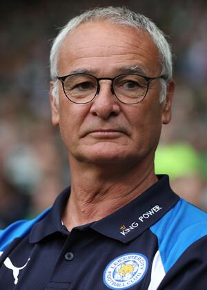 Claudio Ranieri, entrenador del Liecester City