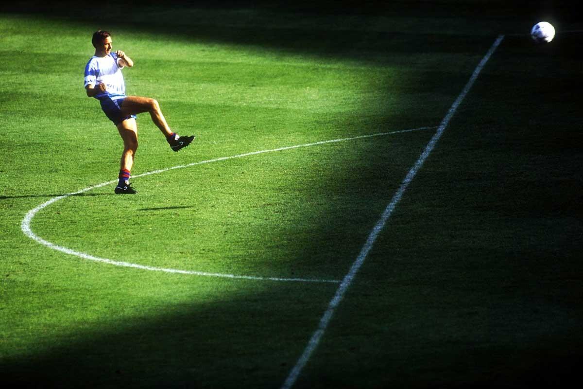 Johan Cruyff antes de la Sampdoria