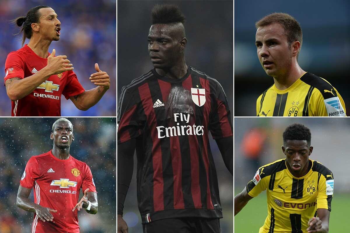 Los últimos fichajes del fútbol europeo