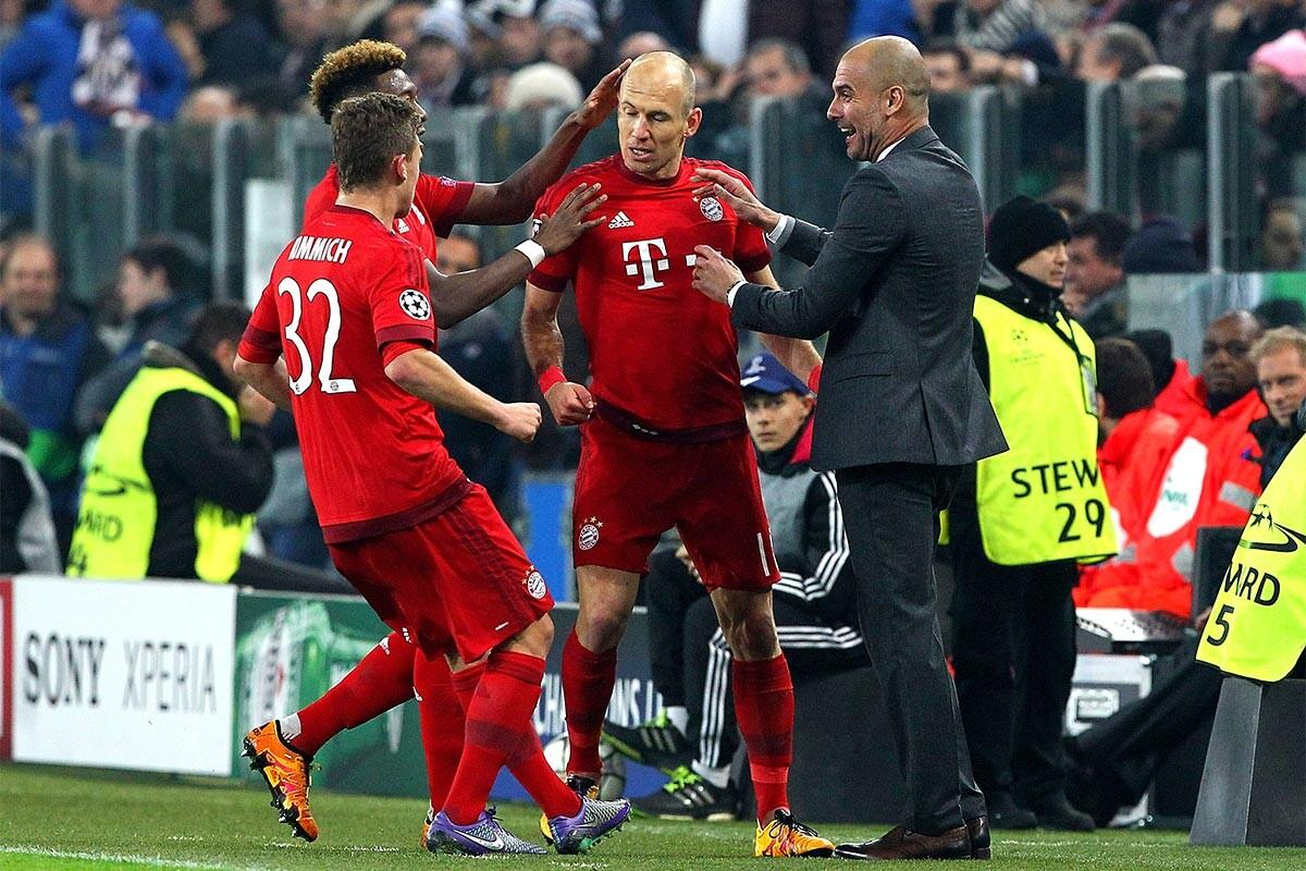 Pep Guardiola, en su etapa en el Bayern de Múnich