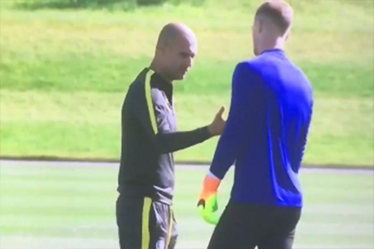 Guardiola y Hart