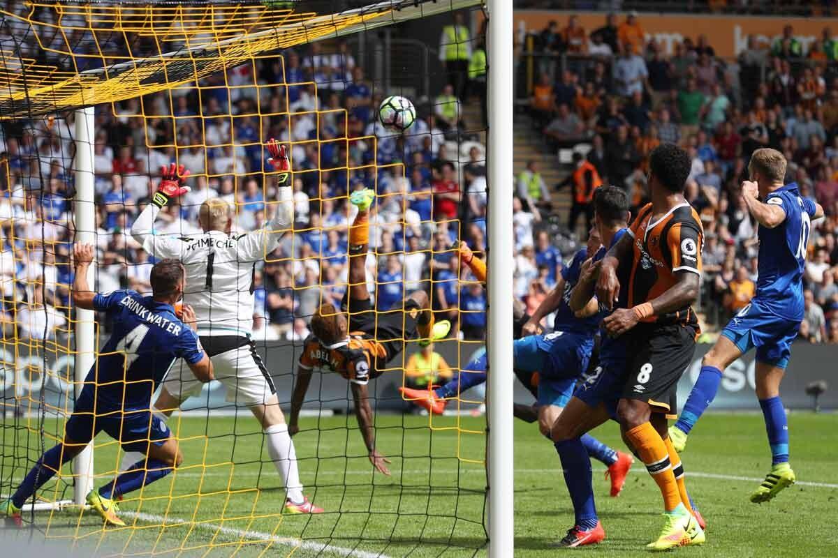 Hull y Leicester se enfrentan en la Premier League
