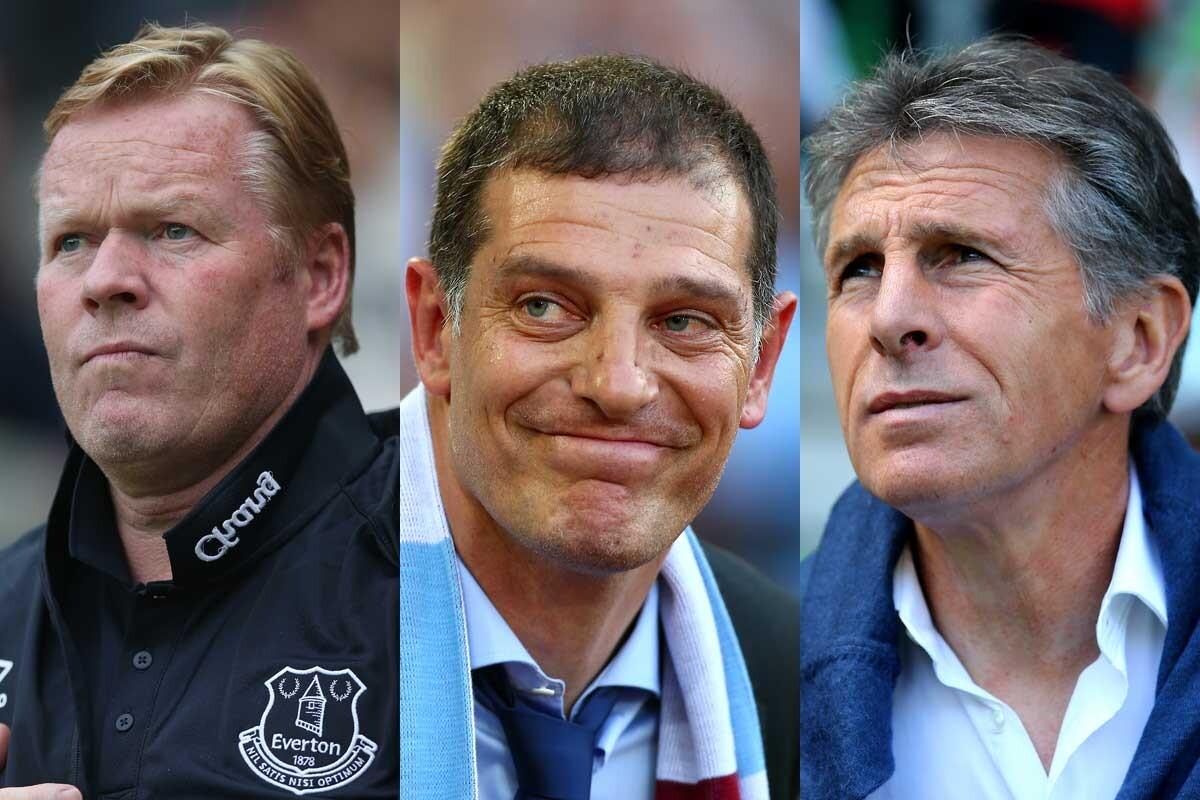 Koeman, Bilic y Puel, entrenadores de la Premier League