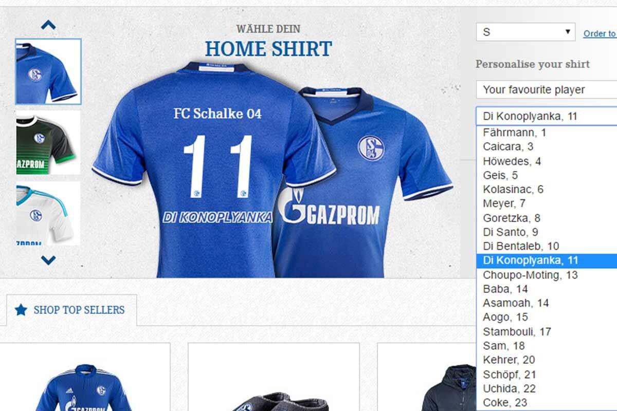 Konoplyanka, al Schalke