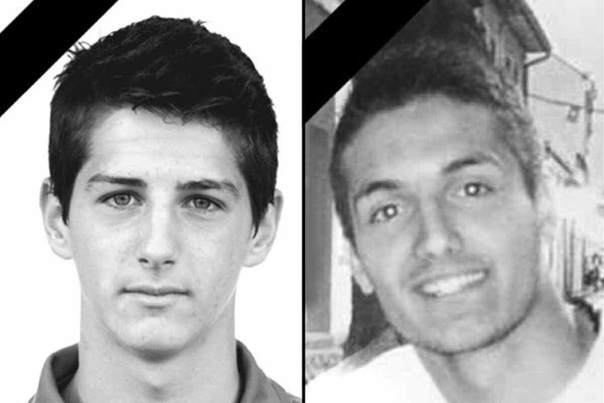 Zoran Baljak y Damjan Marjanovic, los jugadores que perdieron la vida en el accidente